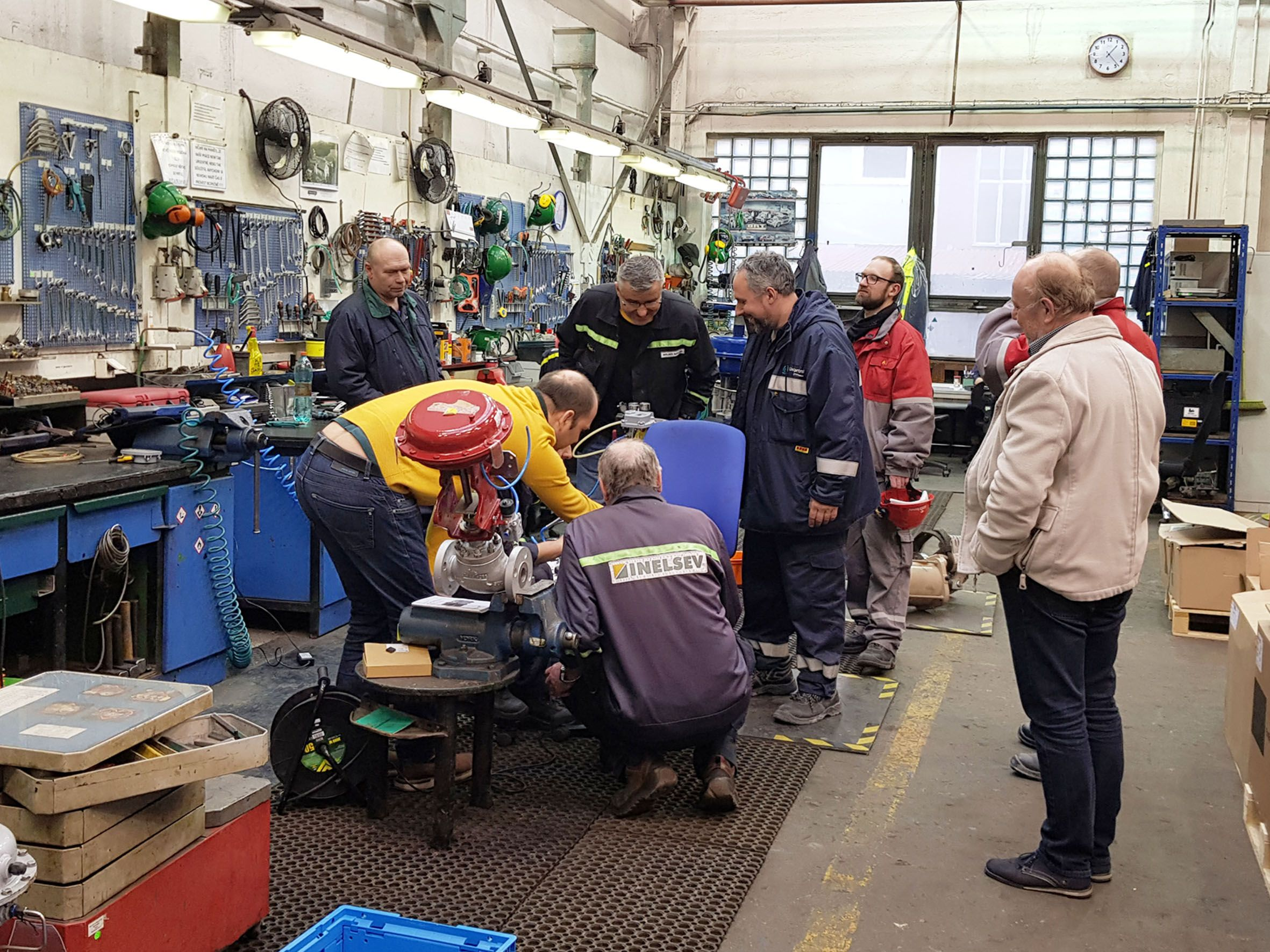 Service of  Masoneilan control valves full-day training